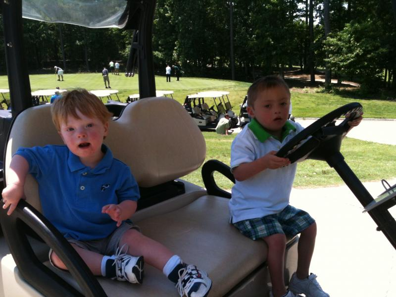 Golfers of all ages enjoyed the Warrior!